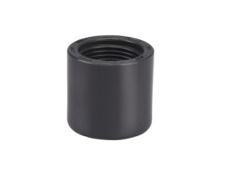 Tapones de extremo hembra de rosca de tubería de plástico UPVC de 1/2