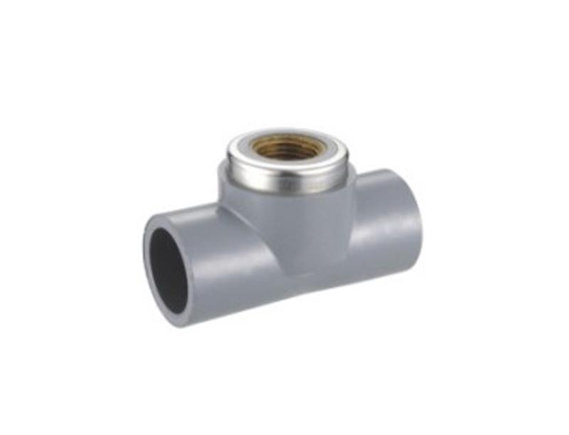 Conexiones de tubería de agua ESTÁNDAR de CPVC ASTM SCH80 de 1/2